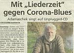 Mit 'Liederzeit' gegen Corona-Blues