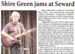 Shire Green jams at Seward