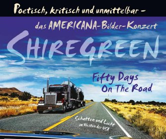 Plakat_Fifty days on the road_Shiregreen