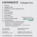 LIEDERZEIT unplugged - Trackliste